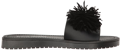 Dirty Laundry Women's Paseo Slide Sandal, Black Black Pvc