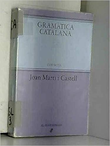 Amazon.com: Gramàtica catalana : (curs mitjà) (9788435051088 ...