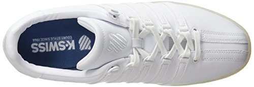 K-swiss Mens Classic Vn Fashion Sneaker Bianco / Ghiaccio
