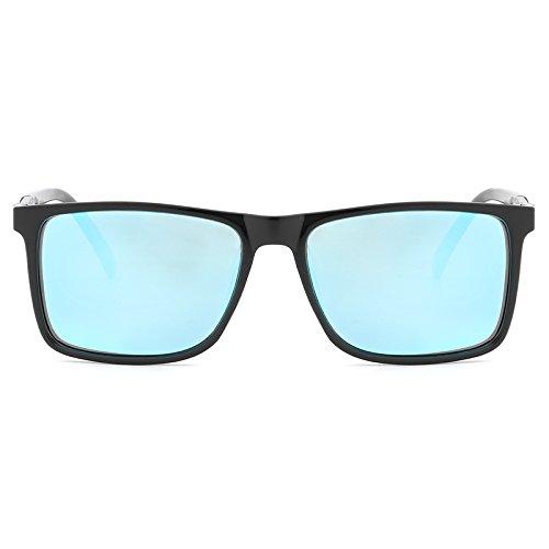 Sol para blue de Moda Black XZP protección polarizadas Hombre Sunglasse UV de Gafas de Gafas I1RnqxZ