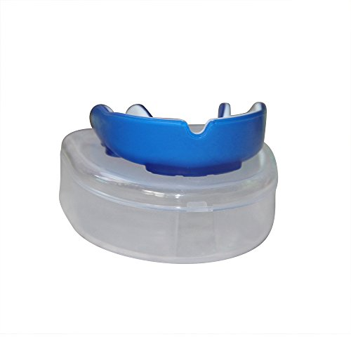 LIIT Brands - Multi-sport, unisex mouth guard with case included. Prevents grinding teeth, suitable for adults, youth who have braces - Ideal for MMA, Boxing, BJJ, Football, Basketball, Lacrosse, etc by LIIT Brands - mouth guard