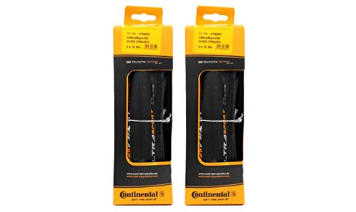 - Continental Ultra Sport II Road Bike Folding Tires (Black, 700x32)