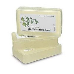 Caffeinated Soap Peppermint Scent 4 5oz