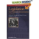 img - for Legislation and Statutory Interpretation (text only) 2nd(Second) edition by P. P. Frickey, E. Garrett, W. N.Eskridge book / textbook / text book