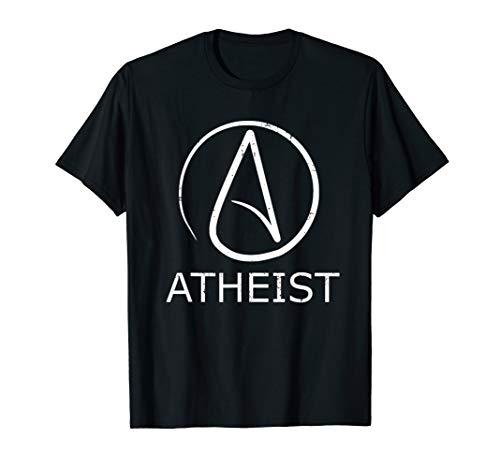 Atheist Shirt - Atheism Symbol T-Shirt Gift