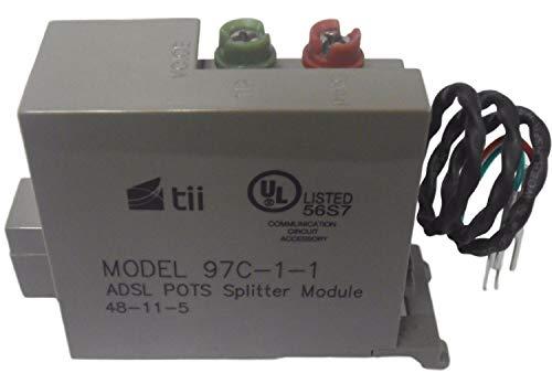 TII 97C-1-1 DSL - ADSL POTS Splitter Module