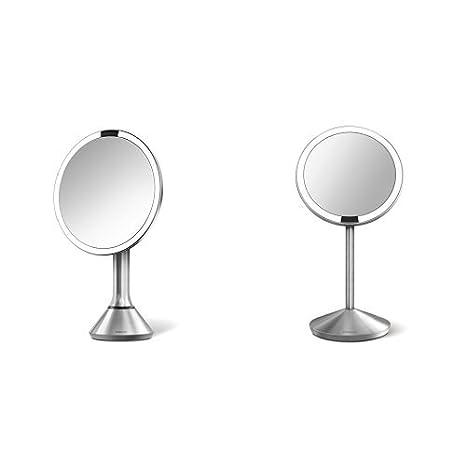 Simplehuman Lighted Makeup Mirror.Amazon Com Simplehuman 8 Inch Sensor Lighted Vanity Mirror