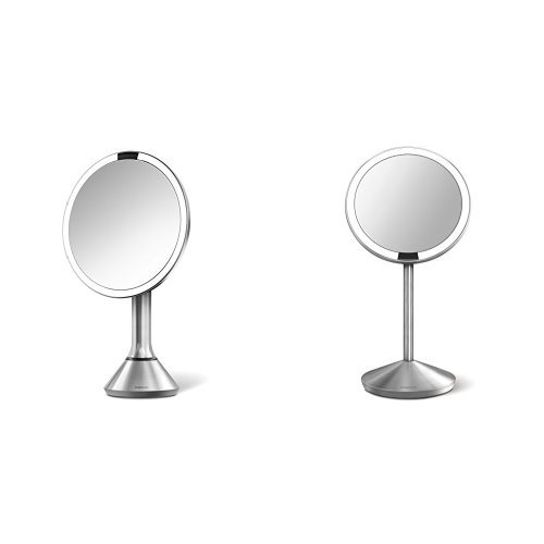 simplehuman 8 Inch Sensor Mirror, Lighted Makeup Vanity Mirror, 5x Magnification 11street ...