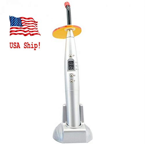 Dental 5W Wireless Cordless Led Curing Light Lamp in US - 7
