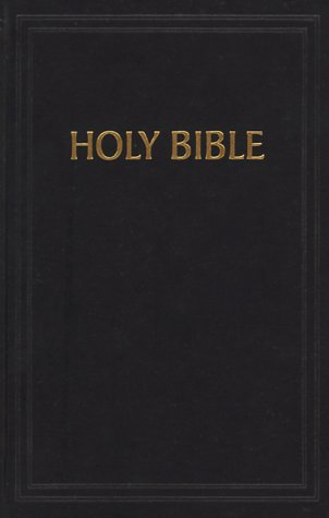 KJV Pew Bible, Black Hardcover