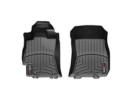 Renewed Black WeatherTech Custom Fit Front FloorLiner for Subaru Legacy//Outback