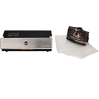 Weston Realtree Vacuum Sealer with Cover, Silver