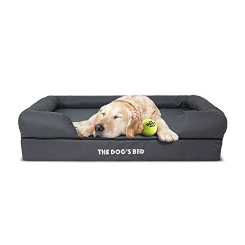 The Dog's Bed Orthopedic Dog Bed, Waterproof, Premium Memory Foam S-XXL, Dog Pain Relief for Arthritis, Hip & Elbow…