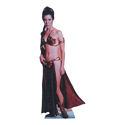 Star Wars: Slave Leia Stand-Up (Star Wars Slave Leia Costume)