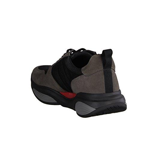 XSENSIBLE SWX3 300271851- Herrenschuhe Prophylaxe Diabetiker, Grau, Leder/Textil (stretchleder)
