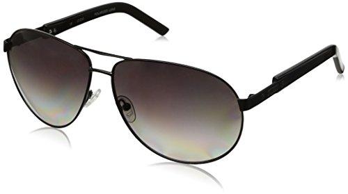 Guess Polarized Metal Aviator Sunglasses