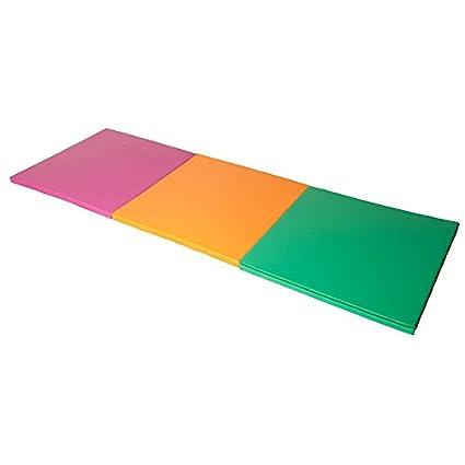 kidunivers - Alfombra de gimnasia coloré plegable en tres ...
