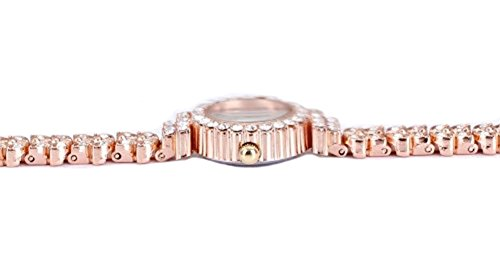 5ec3379b305a1 King Girl royal rose gold bracelet watch women top brand unique full  crystal diamonds for ladies