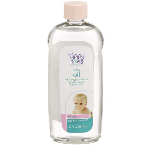 Tippy Toes Baby Oil (Pack of 6) by Generic