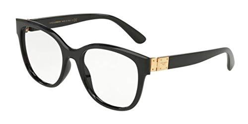 Dolce&Gabbana DG5040 Eyeglass Frames 501-54 - Black DG5040-501-54