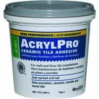 Custom Building Products ARL4000QT 1 Quart AcrylPro Ceramic Tile Mastic, White by Custom Building Products