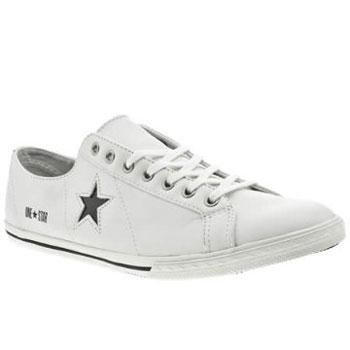 converse one star blanche cuir