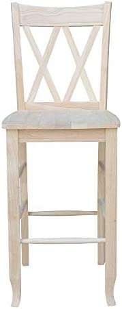 International Concepts 29-Inch Double X Stool