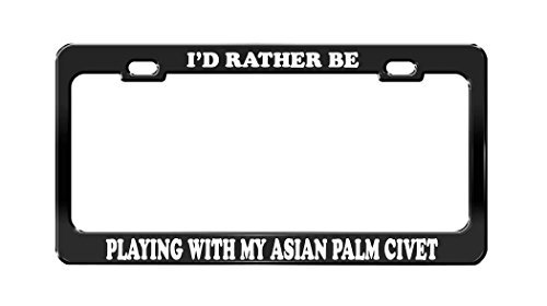 license plate frame asian - 3