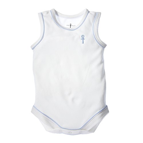 little-pharo-100-extra-long-staple-egyptian-cotton-sleeveless-bodysuit-ivory-with-blue-piping-size-1