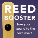 Reed Booster for Tenor Sax, $19.95, Designed in California