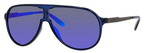 Carrera New Champion Aviator Sunglasses, Blue Ruthenium & ML Blue, 62 - New 2015 Sunglasses