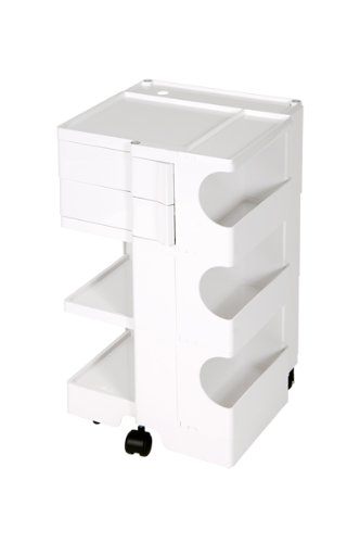 Amazon com: Bieffe Boby Art-Tech Taboret Model 3/2 - White