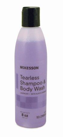 Tearless Shampoo & Body Wash McKesson 8 oz. Lavender Squeeze Bottle