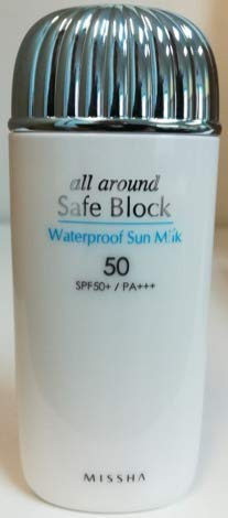 How often Korean skin care. [MISSHA] All-around Safe Block Waterproof Sun Milk SPF50+ PA+++ 70ml #koreanskincare