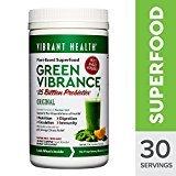 Vibrant Health Green Vibrance Powder 30 Day Supply 12.5 Oz Version - Powder Foundation Green