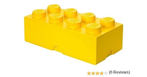 LEGO Bricks - Caja de almacenaje con diseño de ladrillo de 8 ...