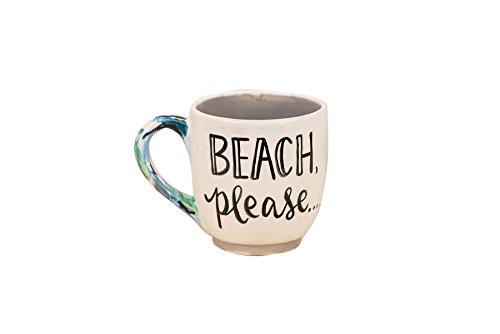 Glory Haus Beach Please Jumbo Mug, Multicolor