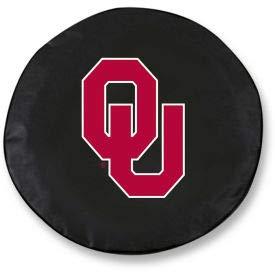 Oklahoma University Black Tire Cover-TCLGOKLHMABK (TCLGOKLHMABK) ()