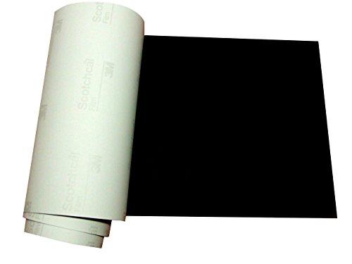 3M Lack Schutz Folie 1220mm breit x 250 mm - schwarz (Gravel Resistant Film)