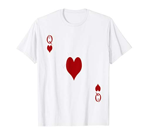 Queen Of Hearts Tshirt - Easy Costumes for -