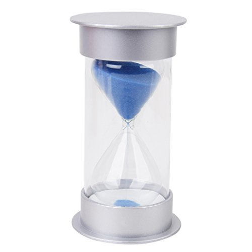 15 Minutes Hourglass Sandglass Sand Timer Home Decor Blue by Generic (15 Min Sand Timer)