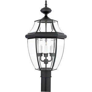 Three Light Outdoor Post in US - 3