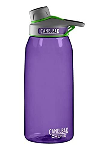 Camelbak Chute Bottle 1L Indigo Camelbak Chute Water Bottle BPA-FREE (Camelbak Podium Bite Valve)