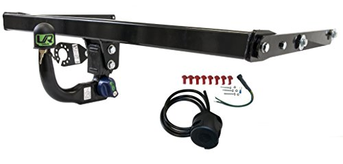 Umbra Rimorchi Fixed Swan Neck Towbar with 7 pin Electrics for BMW X3 SUV F25 4WD 2009 On UT060COR32ZFM//WU200UK1
