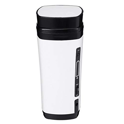 XIAO&WEICHENG Cafetera USB Powered Coffee Cup Rechargeable Heating ...