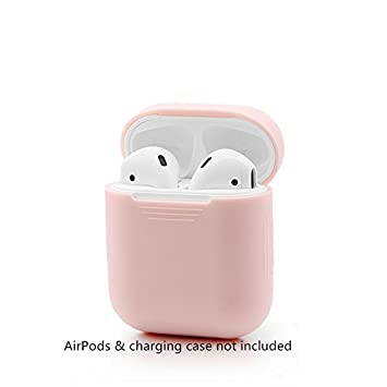 low priced 9cc1d 89c6b GerTong AirPods Case Protective Silicone Cover and Skin: Amazon.co ...