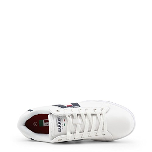 Sneakers 44 Uomo CAM817000 Bianco Jeans Carrera 4qOaxEE