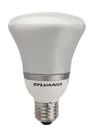 Sylvania - Bombilla de bajo consumo (E27, R80, 15 W, 10000 horas)
