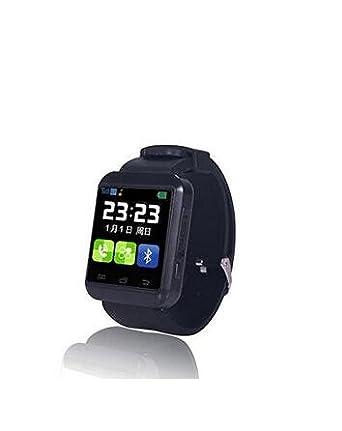 U8 Plus Bluetooth Smart reloj deportivo reloj de pulsera podómetro sueño monitoreo para iOS Android Smartphones: Amazon.es: Electrónica