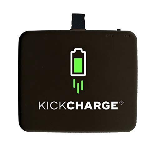 - KICKCHARGE Compatible with iPhone - Pre-Charged, Emergency, Single-Use Mobile Phone Charger, External Battery Pack for Charging On The Go - Great for Everyday Use, Travel, Sporting Events & Camping